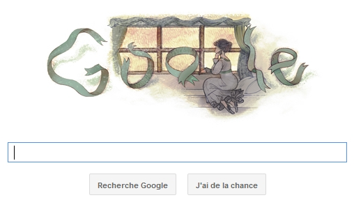 Doodle Gustave Flabert