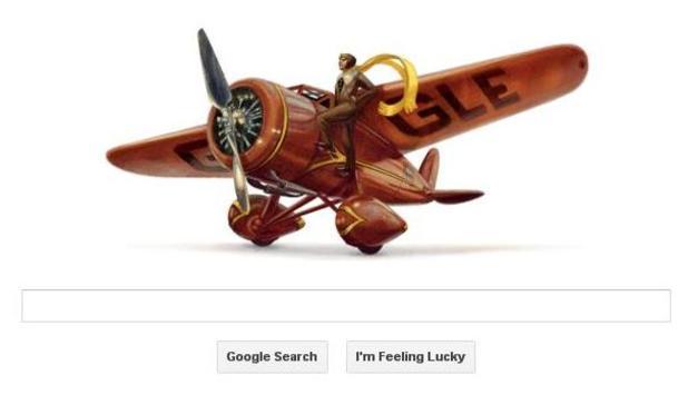 Doodle Amelia Earhart