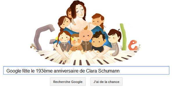 Doodle Clara Schumann