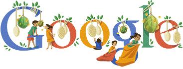 Doodle Journée d'indépendance de l'Indonésie