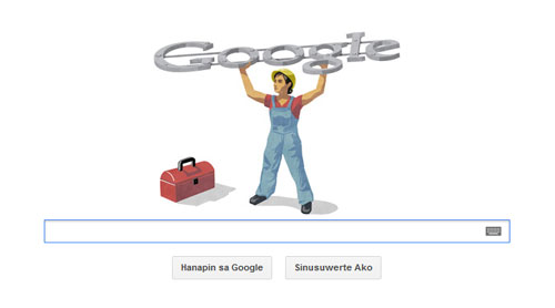 Doodle Jour des Travailleurs