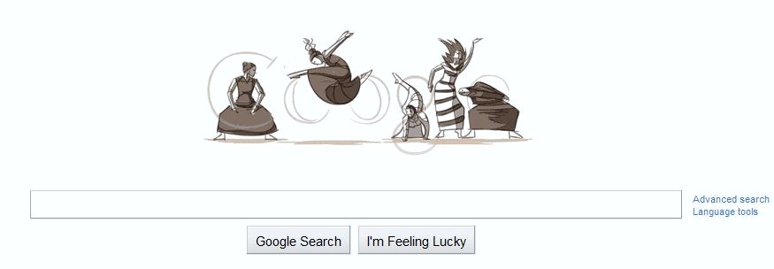 Logo Google Doodle Martha Graham