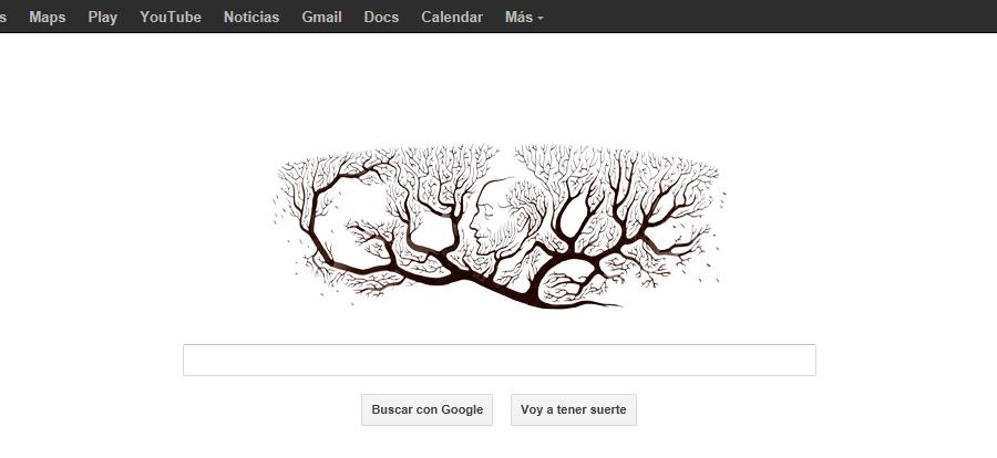 Doodle Ramon y Cajal