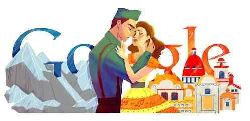 Doodle 96ème anniversaire de Consuelo Velazquez