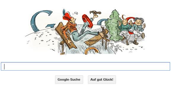 Doodle Wilhelm Busch