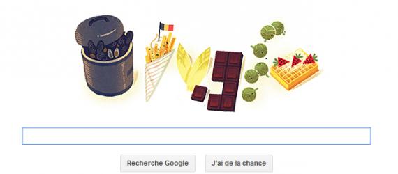 Doodle fête nationale Belge