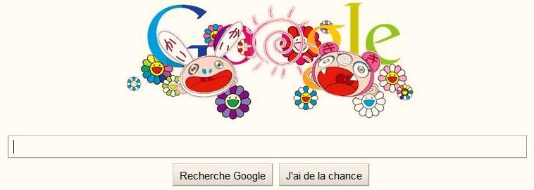 Google et son logo doodle premier jour de l'été 2011