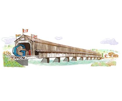 Doodle du Pont de Hartland
