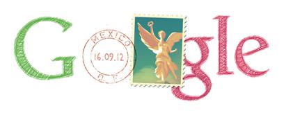 Doodle Indépendance du Mexique