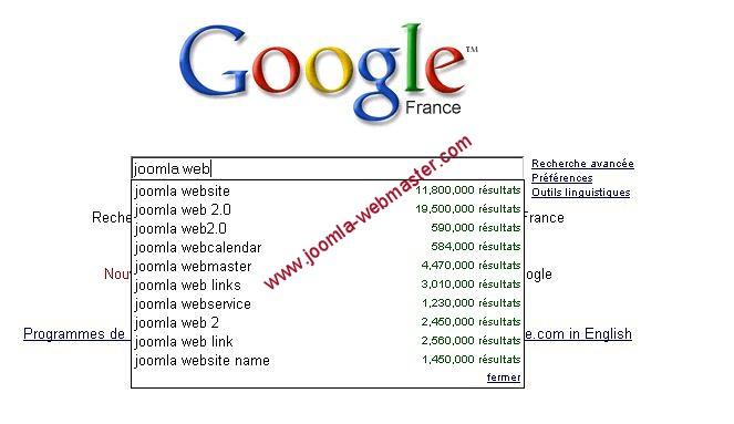 intelissense google-apercu-resultat
