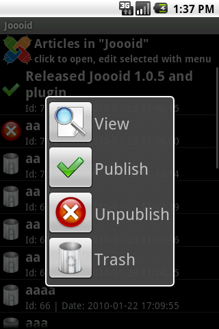 joomla-android