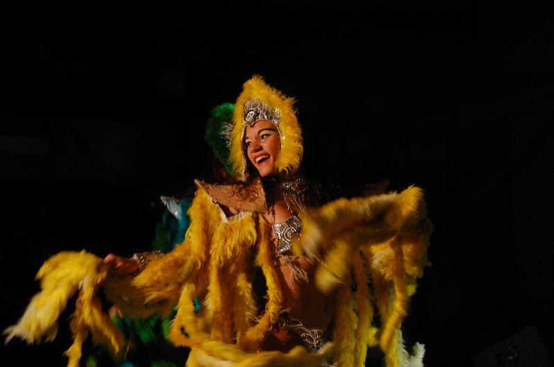 Danseuse de carnaval Brésil