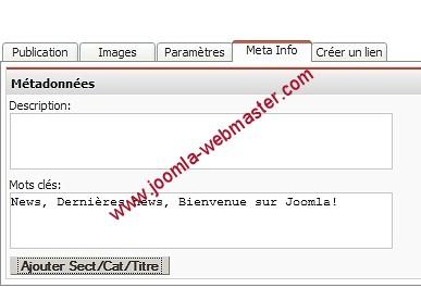 balise meta-info-joomla