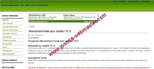 jclass1 template joomla