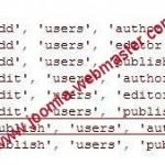 Modifier les droits pour publier un article dans JOOMLA