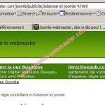 Gestion du fichier  google sitemap pour Joomla