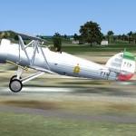 FS2004 FSX Persian Fury Biplane Warbird