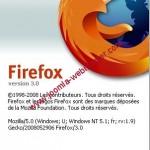 Firefox 3.0 est disponible
