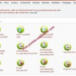referencement et positionnement d'un site avec joomla 1.015