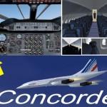 Panel Concorde FS2004 FSX