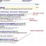 SearchWiki Google permet la personnalisation des résultats