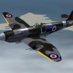 FS2004 FSX Spitfire MK 22