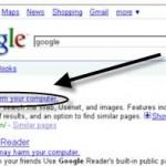 Un bug chez google