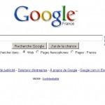 Google agrandit la zone de saisie pour la recherche