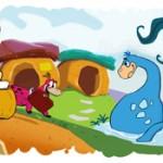 Google fête les Pierrafeu, 50 ans aprés leur première diffusion