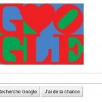 Google modifie son logo pour mettre un doodle Saint Valentin