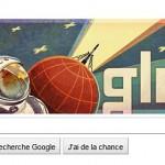 Doodle 50ème anniversaire du premier homme dans l'espace