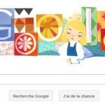 Google offre un Doodle Mary Blair.