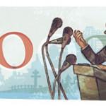 Doodle André Malraux le 110ème anniversaire