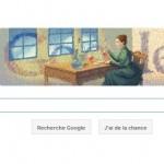 Doodle Marie Curie