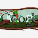 Google célèbre Gioacchino Rossini et l'année bissextile