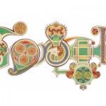 Doodle Saint Patrick sur Google.uk