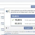 Facebook devient payant pour les pages Facebook