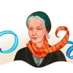 Google célèbre le 127ème anniversaire d'Alicia Moreau de Justo