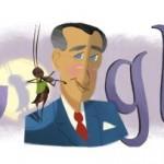 Doodle 105ème anniversaire de Francisco Gobilondo Soler