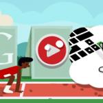 Google présente un doodle Londres 2012 course de haies