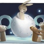 Google célèbre la fête du mi-automne ou la fête de la lune
