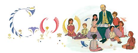 Google en Pologne célèbre l'année de Janusz Korczak