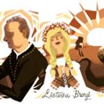 Doodle 150ème anniversaire de Jonas Maciulis-Maironis