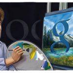 Google fête le 70ème anniversaire de Bob Ross