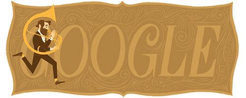 Google celebre le 201e anniversaire d Adolphe Sax