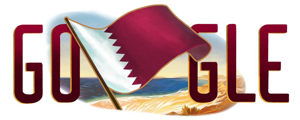 Doodle : Le Qatar célèbre sa fête nationale