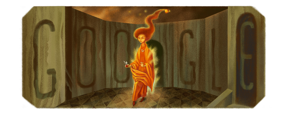 Doodle pour les 107 ans de Remedios Varo
