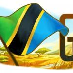 Doodle pour la fête de l'indépendance de la Tanzanie