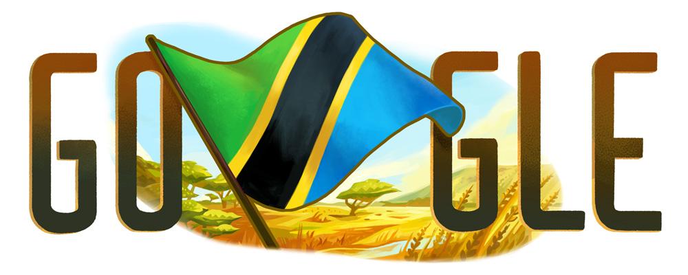 Doodle pour la fete de l'independance de la Tanzanie 2015