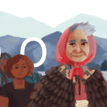Doodle : il y a 120 ans naissait Whina Cooper